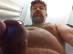 8 01 17 Gobs of my close up cum in your face