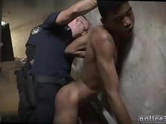 Hot gay white cop porn Suspect on the Run,