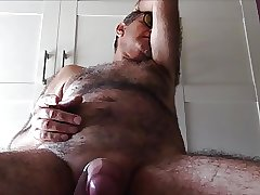 Hairy Mature Wanker