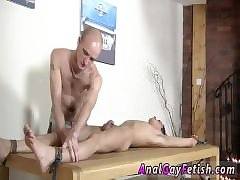 Young oriental men in bondage and gergay