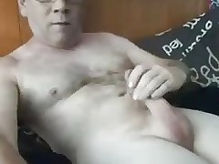 Wanking and Cumming on cam for my gay friend