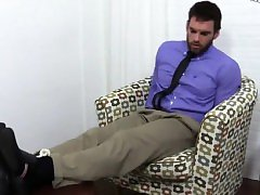 actors gay sex jizz Chase LaChance Tied Up, Gagged & Foot