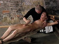 Bondage and butts and gay boy bondage blowjob British twink