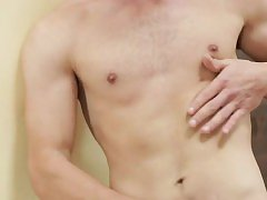 Muscle boy anal sex and facial
