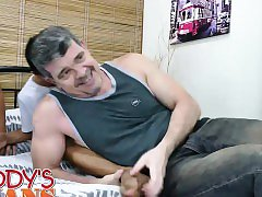 Daddy and Asians Bareback 3way
