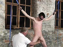 Gay chastity belt bondage tumblr Sean McKenzie is roped up a