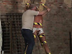 Free gay twink bondage video xxx Slave Boy Made To Squirt