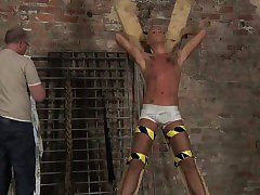 Free emo bondage movies gay first time Slave Boy Made To Squ
