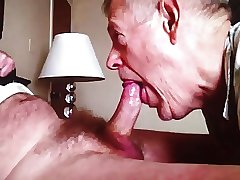 Grandpa blowjob series - 3