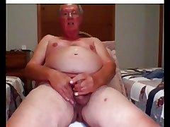 he cum on webcam