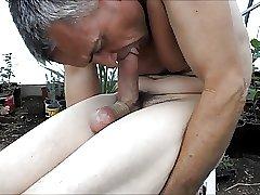 Self Suck Lick Lick blast