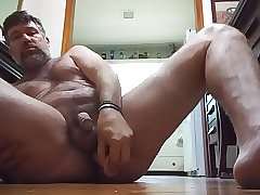 9 04 17 Danrun's Hard ass fuck and huge Cum on floor