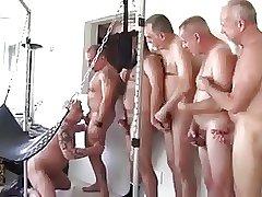 Bareback Gangbang Daddies (Sling)