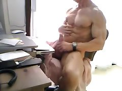 Muscle dad jerking