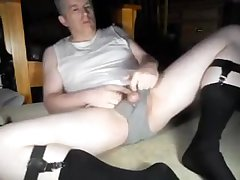 Daddy soft to cum in otc socks