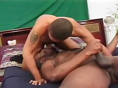 Young Black Guy Ass Fucked By Muscle Man