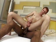 Ginger Takes The Black Daddys Cock