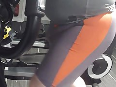 Gym, nice shorts and nude