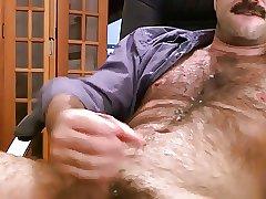 Big Dick Daddy Jerk Off & Cum