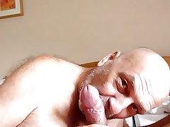 meine gierige Zunge im Einsatz