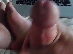 Jerking to bear porn