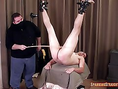David Restrained and Caned